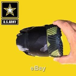 Nike Huarache Elite Mens Size 11.5 PE Military Army Turf Shoes Camo Rare Air