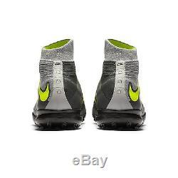 Nike HypervenomX Proximo II DF TF 852576-071 Grey/Volt Men's Turf Soccer Sz 10.5