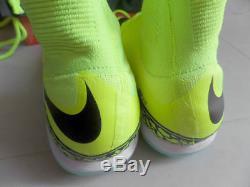 Nike HypervenomX Proximo TF Size 12.5 Mens Turf Soccer Shoes 747484-700 Volt