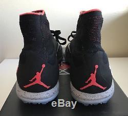 Nike Hypervenom X Proximo NJR TF Turf Neymar Air Jordan Black Mens Sz 11.5 NEW