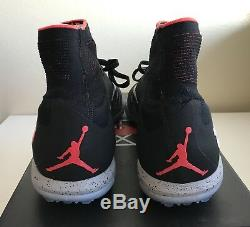 Nike Hypervenom X Proximo NJR TF Turf Neymar Air Jordan Black Mens Sz 11 NEW