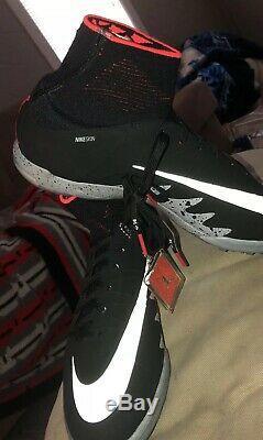 Nike Hypervenom X Proximo NJR TF Turf Neymar Air Jordan Black Mens Sz 9 NEW
