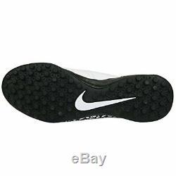 Nike Hypervenomx Proximo II TF Men's Turf Soccer Shoe 10 D(M) US White/Black