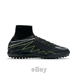 Nike Hypervenomx Proximo Tf Turf Soccer Shoes 747484 007 Black Men's Sz 9