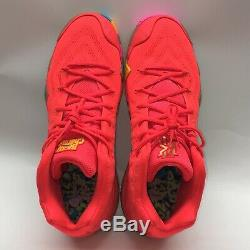 Nike Kyrie 4 Lucky Charms with Box Nike, Mens Size 13 Bright Crimson/Mult