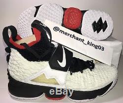 1a500c7332014 Nike LeBron 15 XV PRIME Diamond Turf AO9144-100 Sz 10 Mens