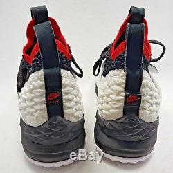 Nike Lebron XV 15 Prime Diamond Turf Deion Sanders White Blk Men 10 Limited RARE