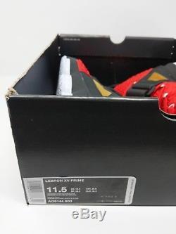 Nike Lebron XV 15 Prime Diamond Turf Red Lbj 23 (ao9144-600) Men Size 11.5 New