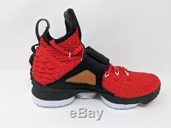 Nike Lebron XV 15 Prime Diamond Turf Red Lbj 23 (ao9144-600) Men Size 8 New