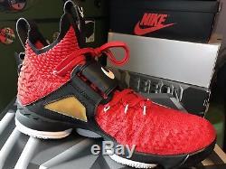 Nike Lebron XV Prime 15 King James Watch Deion Sanders Diamond Turf Mens Size14