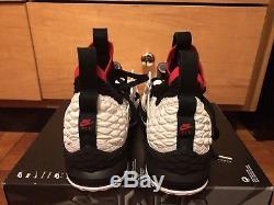Nike Lebron XV Prime Mens Size 14 Diamond Turf Deion Sanders AO9144 100 Rare