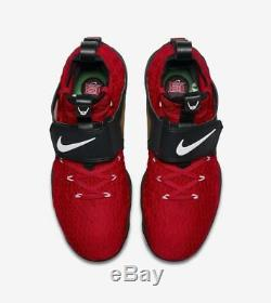 Nike Lebron XV Prime'red Diamond Turf' Ao9144-600 Us Men Sz 9.5