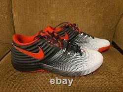 Nike Lunar 2 Trout Turf Baseball Training Shoes Red Black White Sz 13 807122 061