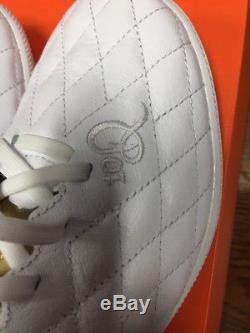 Nike Lunar Legend 7 Pro 10R TF Men's Turf Shoe AQ2212 Wht/Gold Size10 RONALDINHO