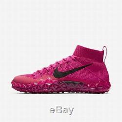 Nike MEN'S Alpha Sensory Turf BCA BREAST CANCER AWARENESS SIZE 11.5 BRAND NEW