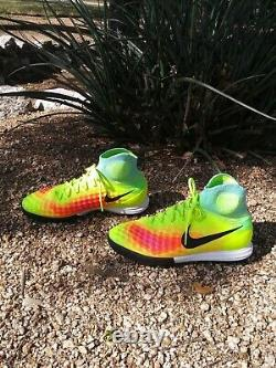 Nike MagistaX Proximo II IC 843957-703 Mens Turf Soccer Athletic Shoes Size 9.5