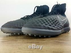 Nike MagistaX Proximo II TF TURF BLACK 843958-009 Futbol Soccer Boots Sz 12.5