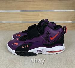 Nike Men Air Max Speed Turf Sneakers Raptors Purple New Shoes 525225-500 Sz 10