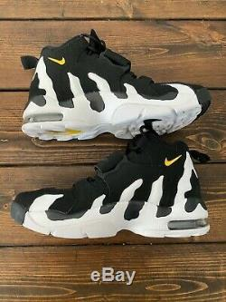 Nike Men Deion Sanders Air DT Max'96 Diamond Turf Shoe Black/White Sneaker