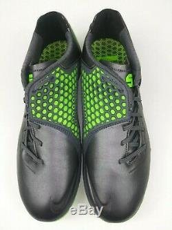 Nike Men Rare Nike5 Bomba Finale 415118 030 Grey Green Turf Shoes Cleats Size 10