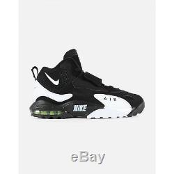 Nike Men's Air Max Speed Turf (525225-011) Black White-Voltag /yellow SZ 11