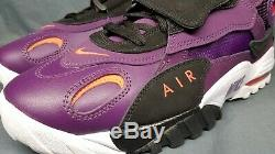 Nike Men's Air Max Speed Turf Cross-Training Sneakers Purple Red Size 13 NEW