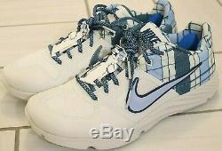 Nike Men's Alpha Huarache Elite 2 Size 11 Father's Day Turf Shoes AV2472-105 UNC