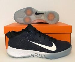 Nike Men's Force Zoom Trout 5 Turf Shoe's Navy Blue BQ5556-400 US Shoes Size 12