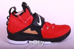 Nike Men's Lebron 15 XV Prime Diamond Turf Deon Sanders Red AO9144 600 Size 12