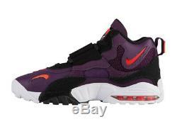 Nike Mens Air Max Speed Turf Night Purple/Crimson/Black/White Shoes Size US12