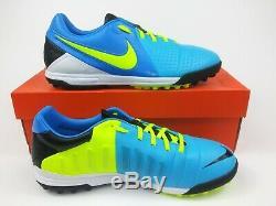 Nike Mens Rare CTR360 Libretto III Turf Blue Soccer Shoes 525169-470 Size 8