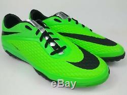 Nike Mens Rare Hypervenom Phelon Turf TF 599846 303 Green Black Soccer Shoes