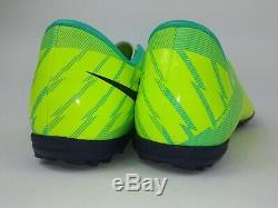 Nike Mens Rare Mercurial Victory II Turf Soccer Shoes Cleats 441994-754 Size 9.5