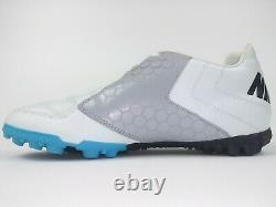 Nike Mens Rare NIKE5 BOMBA PRO Turf Soccer Shoes 415119-404 White Grey Black
