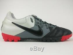 Nike Mens Rare Nike5 Bomba PRO Turf 415119-066 Black Grey Soccer Shoes Size 8