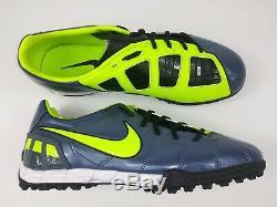 Nike Mens Rare T90 Shoot III Turf Soccer Football Shoes 386471-470 US Size 10.5
