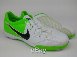 Nike Mens Rare T90 Shoot IV Turf Soccer Shoes 472560-170 White Green US Size 10