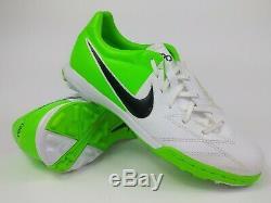 Nike Mens Rare T90 Shoot IV Turf Soccer Shoes 472560-170 White Green US Size 8.5