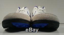 Nike Mens Rare Tiempo Mystic IV Turf 454314-140 White Soccer Shoes Size 8.5