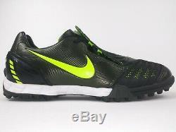 Nike Mens Rare Total90 Strike ll Turf 318789-371 Green Black Soccer Shoes Size 7