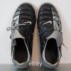Nike Mens Size 11.5 Total 90 3 Black Silver Rare Turf Soccer Cleats Shoes