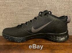 Nike Mens Zoom Trout 5 Baseball Turf Shoes Triple Black Size 14 AH3374-002