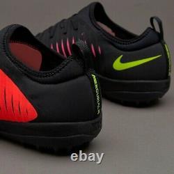 Nike MercurialX Finale II TF Size 9 Turf Soccer Shoes 831975-870 Orange NIB