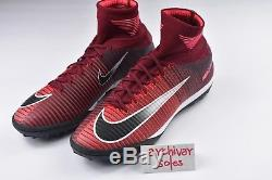 Nike MercurialX Proximo II 2 TF Mens Size 9 Indoor Turf Soccer Shoes Red 831977