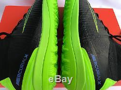 Nike MercurialX Proximo II TF 831977-034 Black Turf Soccer Boots Shoes Men's 9