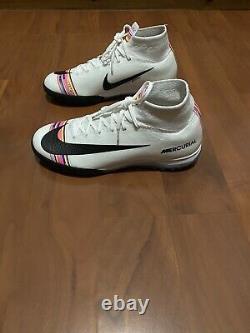 Nike Mercurial SuperflyX 6 Elite TF Turf soccer shoes (AJ3572-009) Mens SZ 8