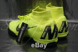 Nike Mercurial Superfly 6 Elite TF Men's Turf Soccer Shoes AH7374-701 Size 9.5