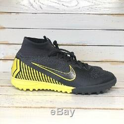 Nike Mercurial Superfly 6 Elite TF Turf Soccer Shoes Size 7 Gray AH7374-070