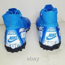 Nike Mercurial Superfly 7 ELITE TF Turf Soccer Shoes Futbol AT7981-414 Size 8