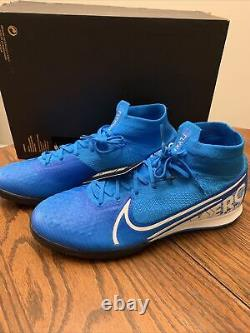 Nike Mercurial Superfly 7 Elite IC Indoor Soccer Shoes Mens Size9.5 AT7982-414